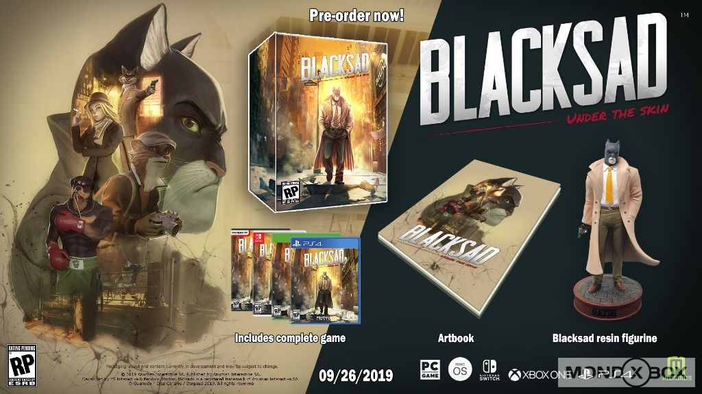 Blacksad: Under the Skin - Immagine 2 di 9