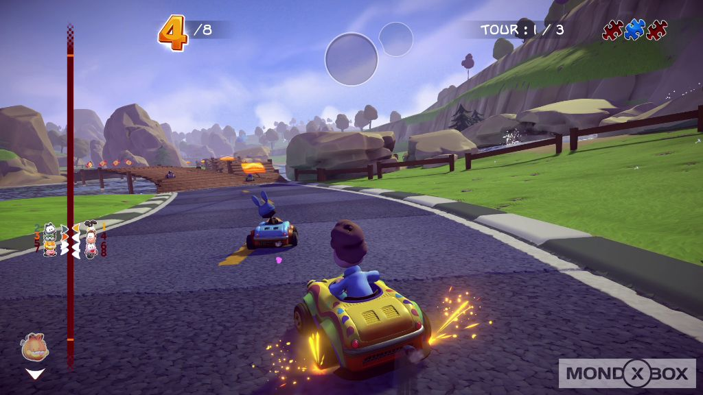 Garfield Kart: Furious Racing - Immagine 2 di 11