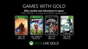 Microsoft announces Games With Gold in April