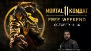 Mortal Kombat 11 announces free game weekend