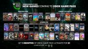Microsoft Announces New Titles Coming in Game Pass