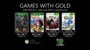 Microsoft Announces Games With Gold in March