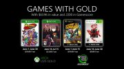 Microsoft Announces Games With Gold in June