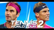 A launch trailer for Tennis World Tour 2